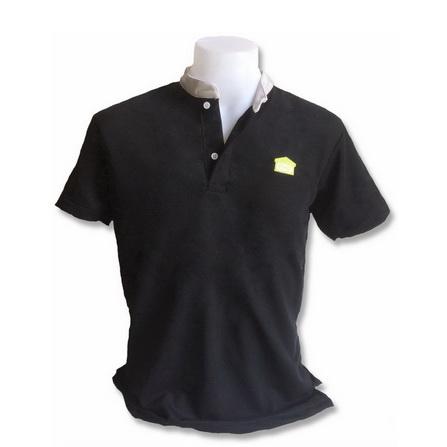 เสื้อคอจีนสีดำ