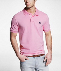 เสื้อยืดโปโล สีชมพู 9