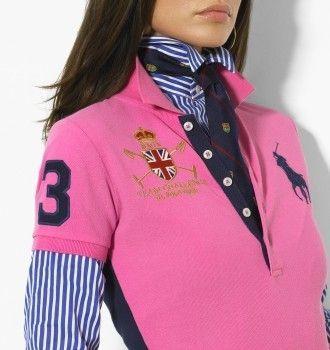 เสื้อยืดโปโล สีชมพู 6